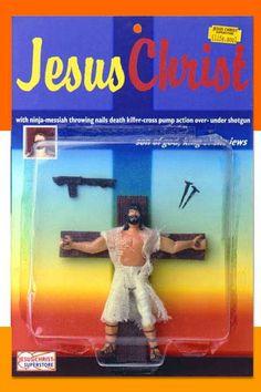 Love Jesus' Pump-Action Shotgun!!!