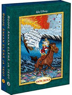 Roope Ankan elämä ja teot kotelossa (Don Rosa) - Aku Ankan kauppa Don Rosa, Glasgow, Cover, Books, Painting, Art, Art Background, Libros, Book