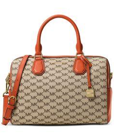 a04c1d624d8 MICHAEL Michael Kors Signature Mercer Medium Duffel - Designer Handbags -  Handbags  amp  Accessories -