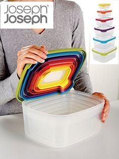 ¡Chollo! Pack de 6 Tuppers Joseph Joseph Nest Storage compactos por 28.61 euros.
