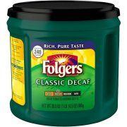 Best coffee! Folgers Classic Decaf Medium Ground Coffee, 30.5 oz