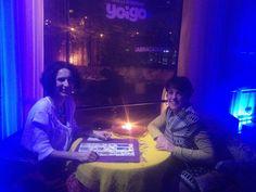 Velada de #Tarot y #magia entre los que se participaron en el #evento privado de #Yoigo en el #MWC16 en #Barcelona