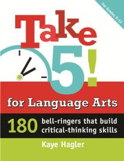 for Language Arts: 180 bell-ringers that build critical thinking skills (Maupin House) by Kaye Hagler Teaching Writing, Teaching Resources, Teaching Ideas, Teaching Strategies, Writing Prompts, Education English, Teaching English, Middle School Ela, High School