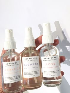 Hair Perfume Mist- jasmine, apricot, and rose scents!