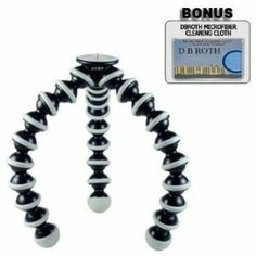 Joby GP3 Gorillapod SLR-Zoom Flexible Tripod For The Canon EOS Rebel T2i (550D) Digital SLR Camera: Amazon.ca: Camera & Photo