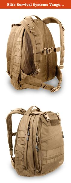 Elite Survival Systems Vanguard Pro 3-day Backpack (Coyote Tan). When we set out to create a new 3-day pack, we kept three things in mind: Utility, Comfort, and Quality. What sprang forth was the Vanguard Pro, a pack intended for long mountain hikes and front-line marches. A pack that brings rugged, hard-use equipment home. • Constructed of heavy-duty 1000 denier nylon • Heavy-duty hardware and zippers • Large main compartment with built-in drainage grommets • Sizable front compartment •...