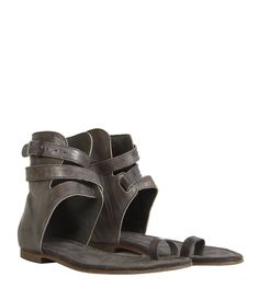 All Saints Sandals! I have them in sand.