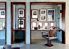 Un bureau dans une pièce - Marie Claire Maison