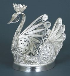 Russian Filigree Swan