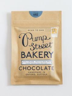 Rye Crumb, Milk & Sea Salt Handmade Bean to Bar Chocolate - this stuff is UTTERLY addictive.