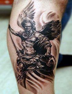 angel forearm tattoos