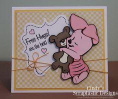 Cindy's Scraptastic Designs: Pooh font set