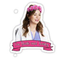 Meredith Grey - Dark and Twisty Sticker