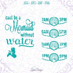 Items similar to Cant be a mermaid svg, water intake svg, water bottle svg, water tracker svg, mermaid svg - water svg - vinyl svg files - Mermaid svg file on Etsy Silhouette Cameo Projects, Silhouette Design, Silhouette Files, Vinyl Crafts, Vinyl Projects, Cricut Vinyl, Vinyl Decals, Alphabet, Silhouette Machine