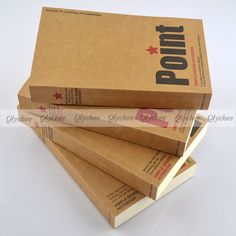 """Kraft Cover Sketchbook 6.9"""" x 4.1"""" Perfect Bound 170 Sheets 85gsm Sketch Paper"""