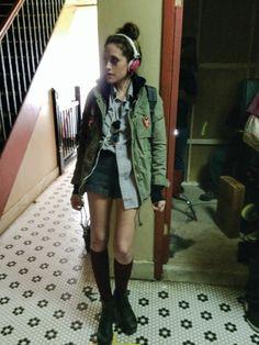 Backstage Life With Carly Chaikin on u0027Mr. Robotu0027 | Backstage  sc 1 st  Pinterest & 8 best Halloween costume ideas images on Pinterest | Carly chaikin ...