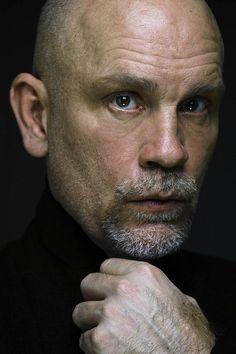 Celebrity Portraits, Celebrity Photos, Illinois, John Malkovich, Actor John, Bald Men, Hollywood Icons, Best Actor, American Actors