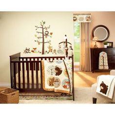 Crib Bedding Woodland Animals Oh Baby Baby Crib