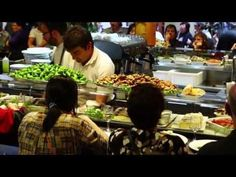 ▶ Food at La Boqueria Market in Barcelona - Part 1 - Jamon, Meat and Seafood Sections - YouTube