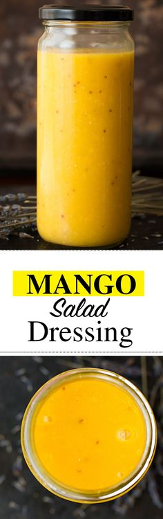 mango-salad-dressing-interest. Get this delicious and easy-to-follow simple Mango salad dressing. Bright, flavorful and so refreshing. Want to eat healthier? Make your own salad dressing without mayo.