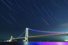 明石海峡大橋(兵庫) Akashi Kaikyo Ohashi Bridge, Hyogo