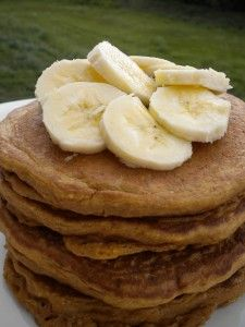 This is a healthy vegan whole wheat pancakes recipe that have no added fats or oils. They are delicious and amazingly healthy for you and easy to make.