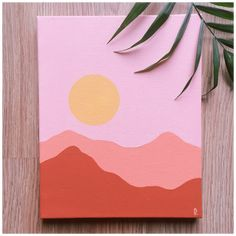 Small Canvas Paintings, Easy Canvas Art, Small Canvas Art, Cute Paintings, Mini Canvas Art, Canvas Instructure, Doodle Canvas, Paintings Tumblr, Canvas Tent