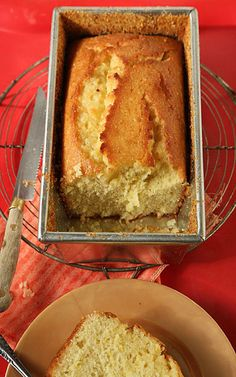 Pardon our French, but this really IS the best damn Meyer lemon cake we've ever had.