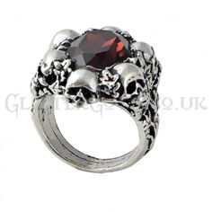 Alchemy Gothic Shadow Of Death Ring: bare the eclipse of fatal night.