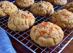 gluten free vegan carrot scones