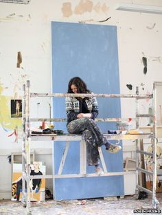 Britain's artists and their studios Chantal Joffe