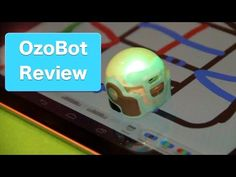 OzoBot Review, The Robot Game-Piece With a Brain - YouTube