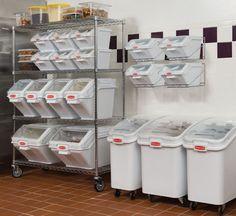 Food storage: nice idea for grains and staples (sugar flour)