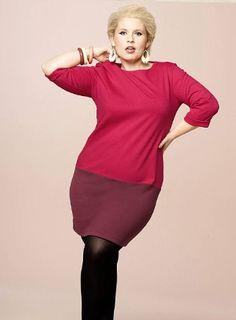 Une robe tirée de la dernière collection Maite Kelly pour Bon Prix. Retrouvez-en plus dans notre article : http://www.ma-grande-taille.com/maite-kelly-collection-bon-prix-disponible-jusquau-60-sa-nouvelle-gamme-va-vous-donner-un-look-british-elegant-65862#