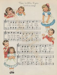 Two Little Eyes Note cards or hymn print Mid by GospelHymns
