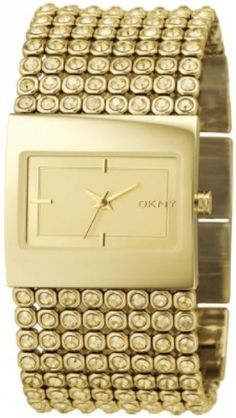 DKNY Women's NY4662 Gold Gold Tone Stainles-Steel Quartz Watch with Gold Dial -
