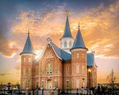 Provo City Center Utah Temple   LDS Temple Pictures