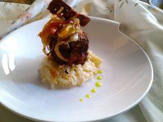 Cenar a base de canapés: 45 ideas para montar un menú de aperitivos Risotto, Couscous, Quinoa, Hors D'oeuvres, Small Plates, Appetizers, Menu, Rice, Relleno