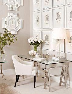 Quadros fofos na decoração simples e elegante