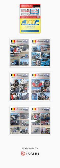 ČESKÝ TRUCKER - magazine for sales promotion of trucks and commercial vehicles - buses - deliveries - trailers and semi-trailers - communal and handling equipment - containers carriers - construction and agricultural machines - industrial machines - . Alcoa Wheels, Social Media Marketing, Digital Marketing, Mercedes Benz Trucks, Semi Trailer, Benz S, Online Advertising, Sale Promotion, Racing Team