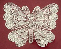 Halas lace ~ Hungarian needle lace