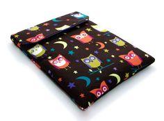 Ipad Mini sleeve, Blackberry Playbook cover,  Night Owls £15.00