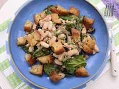 Receta   Ensalada de alubias frías con ventresca de atún - canalcocina.es