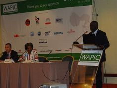 WAPIC - West African Power Industry Convention  Professor Bart Nnaji and Marie Francoise World Bank, Country Director for Nigeria