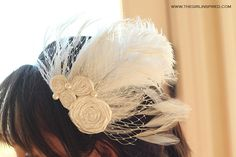 it's always autumn - itsalwaysautumn - STL: DIY fascinator with Stef from Girl. Inspired