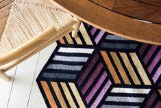 Visuelle Effekte Und Geometrische Puzzle In Der Neuesten GAN Kilim  Collection #Teppich
