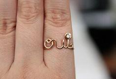 Oui ring for @Natasha Lodahl