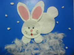 Easter Crafts For Toddlers, Easy Easter Crafts, Easter Projects, Easter Art, Paper Crafts For Kids, Crafts To Do, Elderly Crafts, Rabbit Crafts, Boyfriend Crafts