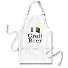 Craft beer enthusiast apron