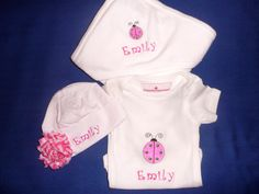 Personalized baby girl gift.